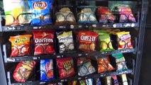 52 Select Crane National Vendors Vending Machine - Fort Lauderdale_Hollywood Airport
