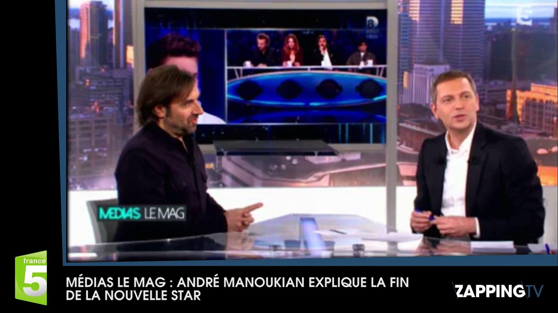 Nouvelle Star 2016 : André Manoukian confirme la fin de l'émission (Vidéo)