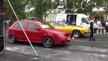 Chevrolet Camaro 6.6 Nitro Vs. Skoda Fabia