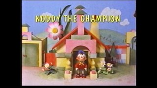 Start and End of Noddy the Champion VHS Monday 4th March 199