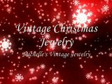 Christmas Jewelry  Michelles Vintage Jewelry