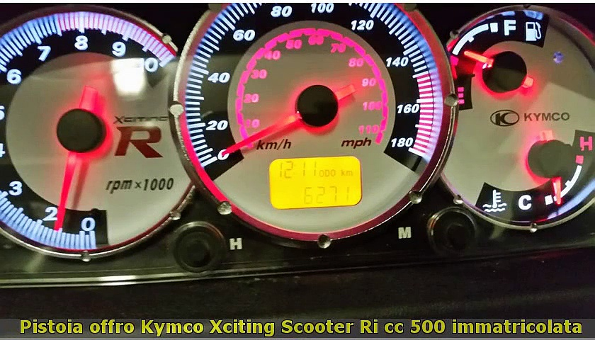 KYMCO  Xciting  Scooter cc 500
