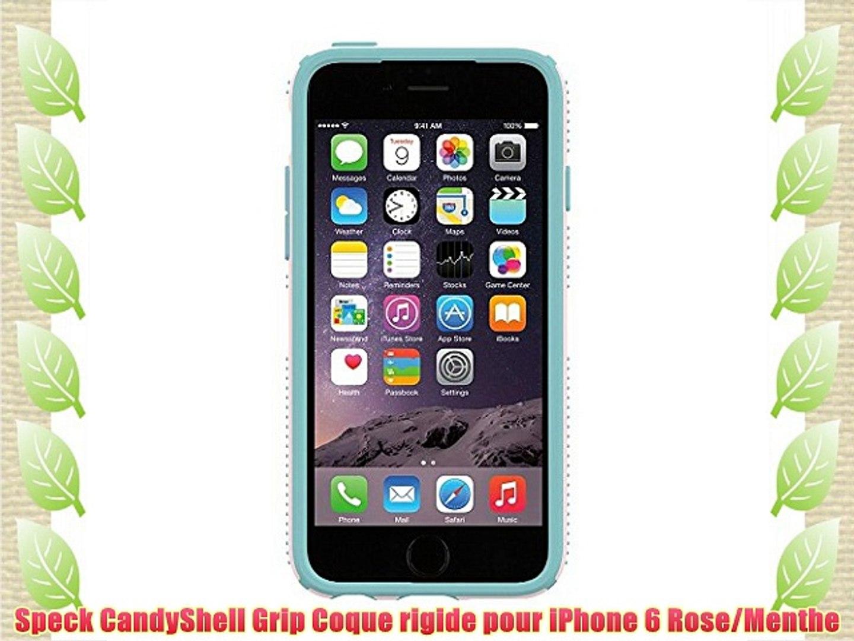 coque rigide iphone 6 rose pale