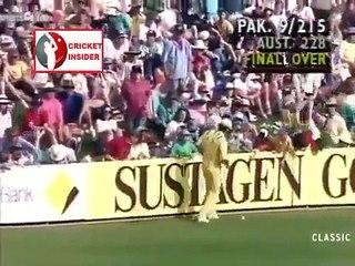 Amazing finish between Pakistan and Australia