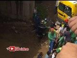 Accident de la route : Une voiture tombe dans Oued El Harrach.
