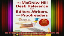 best book  The McGrawHill Desk Reference for Editors Writers and Proofreaders with CDROM
