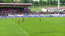 SITE OFFICIEL STADE MONTOIS RUGBY - ESSAI 2 R. HUGUES - US DAX vs STADE MONTOIS RUGBY