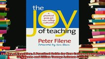 free pdf   The Joy of Teaching A Practical Guide for New College Instructors H Eugene and Lillian