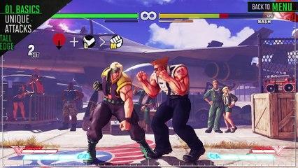 SFV - Guide Officiel de Guile de Street Fighter V