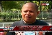 SONA: Paglalagay ng aucun des ci-dessus au-dessus seulement sa balota, ipini petisyon ng isang