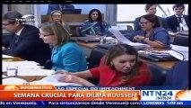"""Analista político afirma que """"salvo un milagro"""", Dilma Rousseff sería suspendida esta semana por el senado en Brasil"""