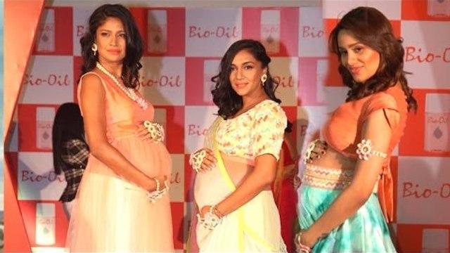 HOT Pregnant Models Ramp Walk For 'Yummy Mummy' Campaign