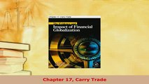 Download  Chapter 17 Carry Trade Ebook