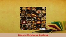 Download  Roses Christmas Cookies Free Books