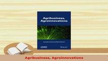 PDF  Agribusiness Agroinnovations Free Books