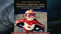READ book  Como pienso soy AMAE Spanish Edition Full Free