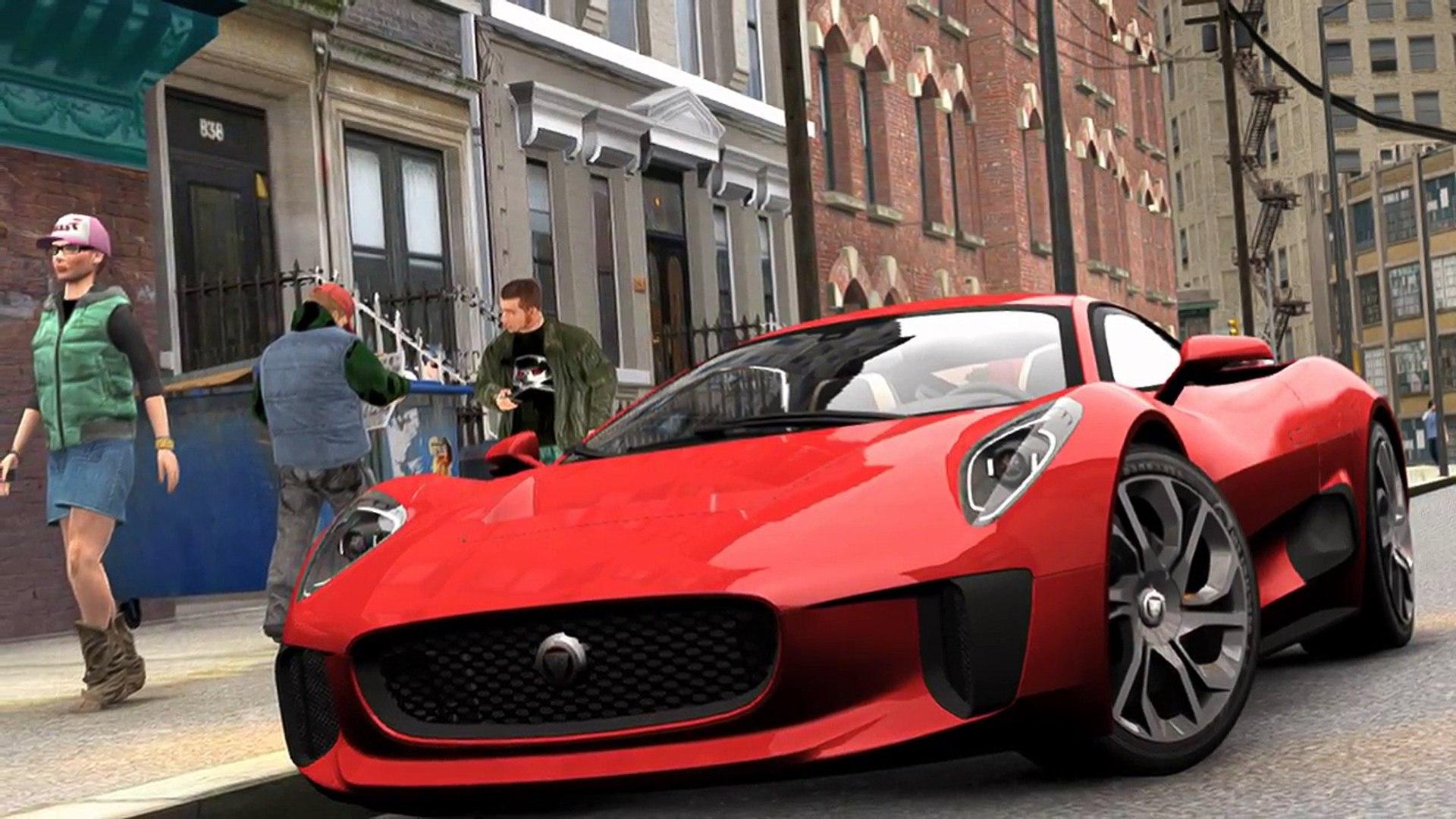 2015 Jaguar C X75 James Bond Villain Car From Spectre