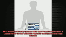 READ book  NPTE Flashcard Study System NPTE Test Practice Questions  Exam Review for the National Full Free