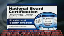 READ book  Flashcard Study System for the National Board Certification Literacy Reading  Language Full EBook
