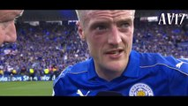 Leicester - Everton 3-1 Post match interview Jamie Vardy(Русская озвучка).