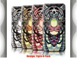 Coque de Stuff4 / Coque pour HTC One/1 Mini / Tigre-8 Pack / Motif Animaux Aztec Collection