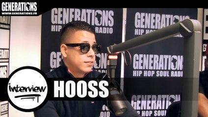 Hooss - Interview #FR2 (Live des studios de Generations)