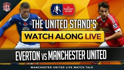 Manchester United VS Everton MatchDay LIVE stream