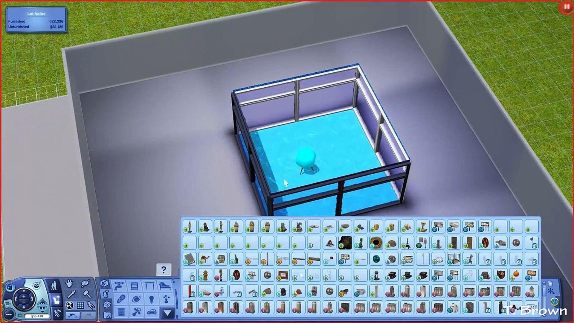 The Sims 3 Tutorials   Shark Tank Tutorial Update