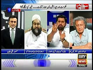 Fayaz Ul Hassan Chohan Warns Sharif Family in Live Show on Personal Attacks