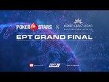 Main event EPT Grand Final 2016 - živý poker, 5. den (s odkrytými kartami)