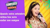 "Cúmplices de Um Resgate - Larissa Manoela ""Sol de Primavera"" (Letra)"