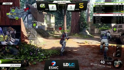 ESWC 2016 COD - Grand Final OpTic Gaming Vs Splyce Game 2 & 3 (FR)