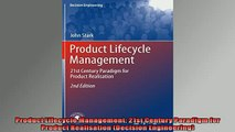 FREE DOWNLOAD  Product Lifecycle Management 21st Century Paradigm for Product Realisation Decision  DOWNLOAD ONLINE