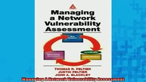READ book  Managing A Network Vulnerability Assessment  FREE BOOOK ONLINE