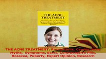 PDF  THE ACNE TREATMENT Preventions Causes Acne Myths  Symptoms Scars Contraceptive Pills  Read Online