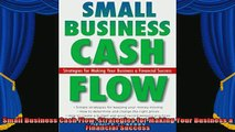 new book  Small Business Cash Flow Strategies for Making Your Business a Financial Success