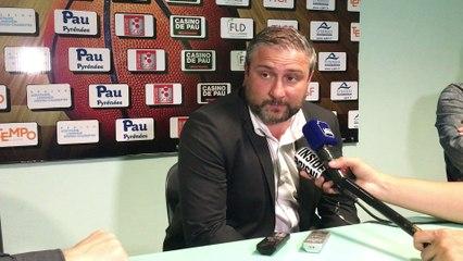 Rémy Valin (Conf de presse Elan - Rouen)