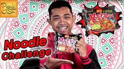 Korean Spicy Noodles Challenge | 3rd Spiciest Ramen Worldwide | Prank Asia
