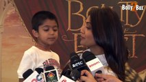 Shilpa Shetty at Beauty and The Beast Musical