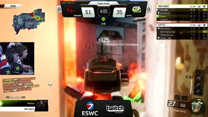 ESWC 2016 COD - 1/4 Finals OpTic Gaming vs Team Infused (FR)