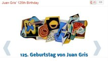 Frohes neues Jahr Silvester 2012 (Google Doodle)
