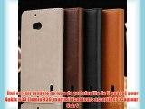 Étui en cuir modèle de luxe de portefeuille de 5 pouces pour Nokia 930 (lumia 930 martini)