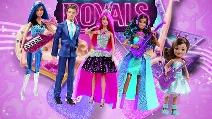 Barbie in Rock N Royals Finger Family 2015   Nursery Rhyme Kids Song   Daddy Finger   4K