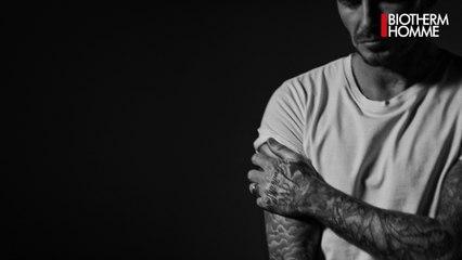David Beckham, nouvel ambassadeur Biotherm