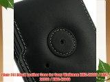 PDair F41 Black Leather Case for Sony Walkman NWZ-Z1060 / NWZ-Z1050 / NWZ-Z1040