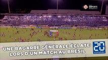 Une bagarre générale d'une violence extrême éclate lors d'un match au Brésil
