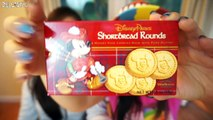 Disney Parks Snacks Taste Testing - Ariel & Mike W Cookies, Shortbread Rounds and Coconut