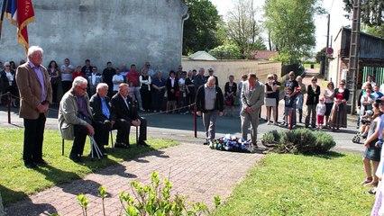 Commémoration du 8 mai 2016 à Wavignies