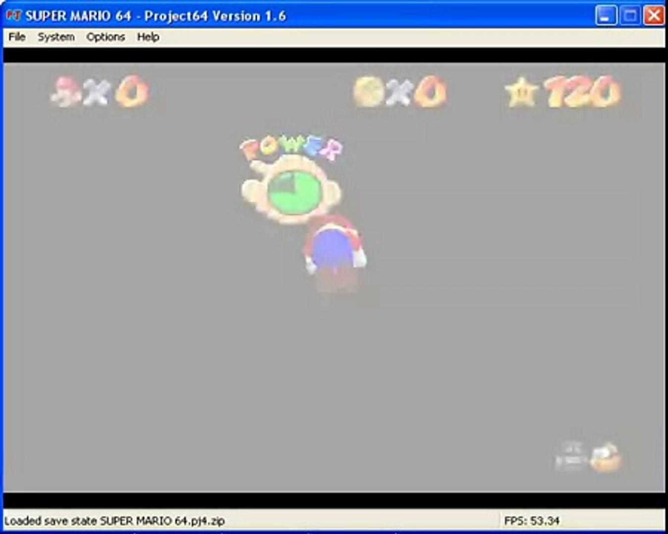 Super Mario 64 - Swimming Beast in the Cavern - 17''60