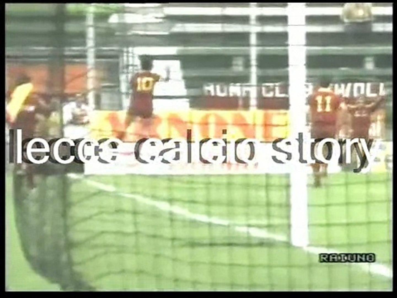 Roma-LECCE 2-1 - 29/10/1989 - Campionato Serie A 1989/'90 - 10.a giornata di andata